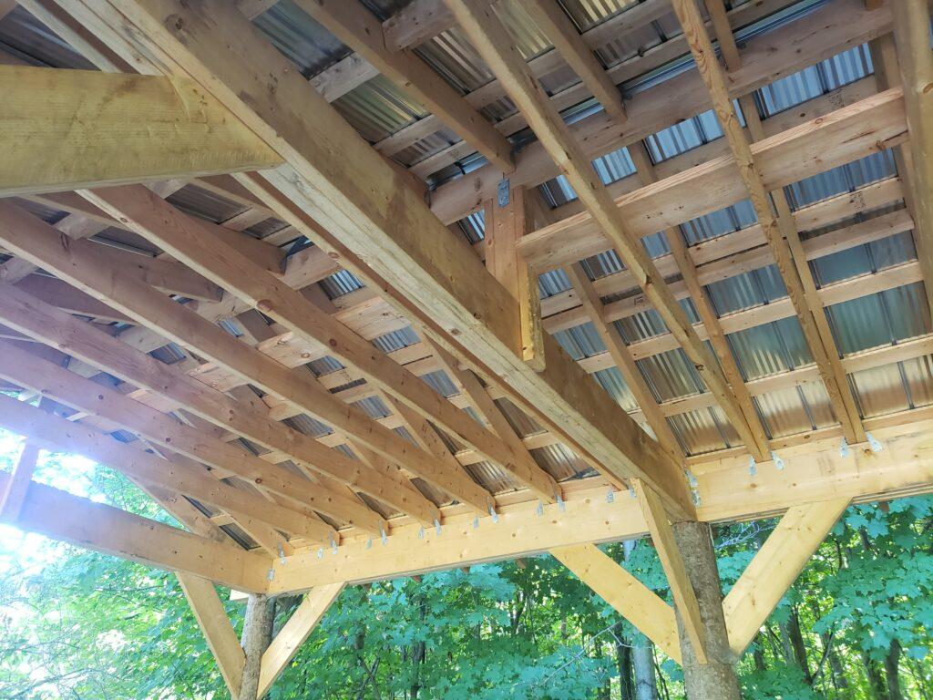 framing custom outdoor screen room