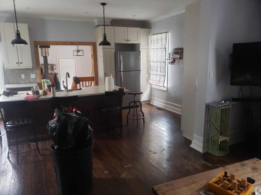kitchen farmhouse open concept reno