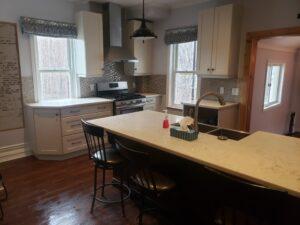 kitchen rustic farmhouse reno