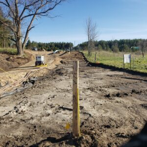 large civil projects underground utilities and excavations