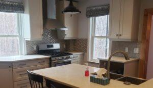 kitchen renovation farmhouse open concept