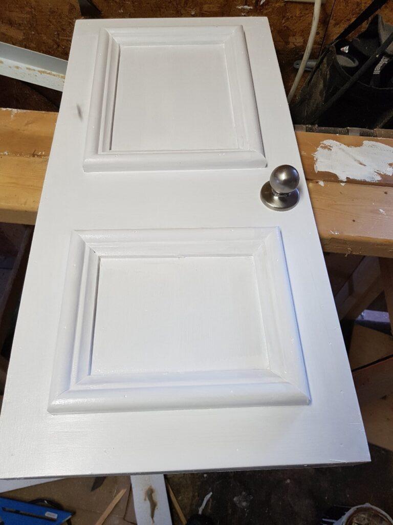 custom interior pet door complete
