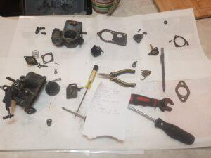outdoor equipment powersport maintenance vw dune buggy carb rebuild