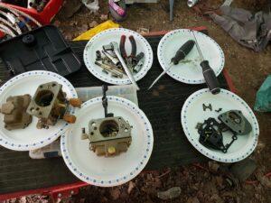 seasonal maintenance restoring antique volkswagen beetle dune buggy carb