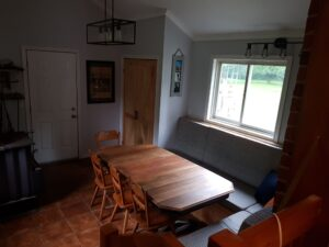 furniture refinishing salvaged second hand dining room table