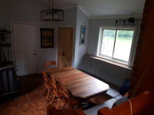 farmhouse sunken dining room renovation