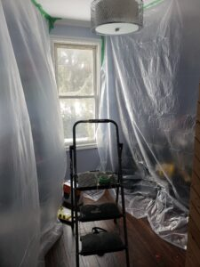 Interior Cleanup Painting Safety Environment